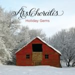 Ars Choralis CD cover art for Holiday Gems