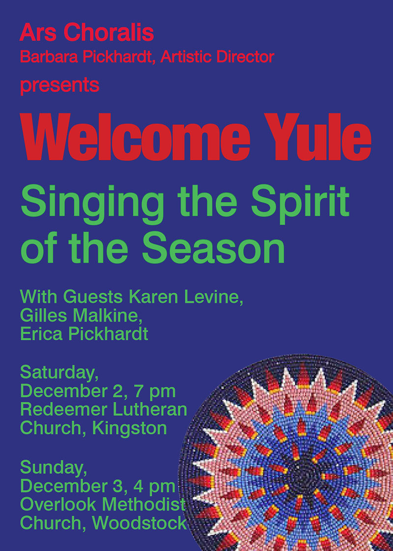 Welcome Yule poster