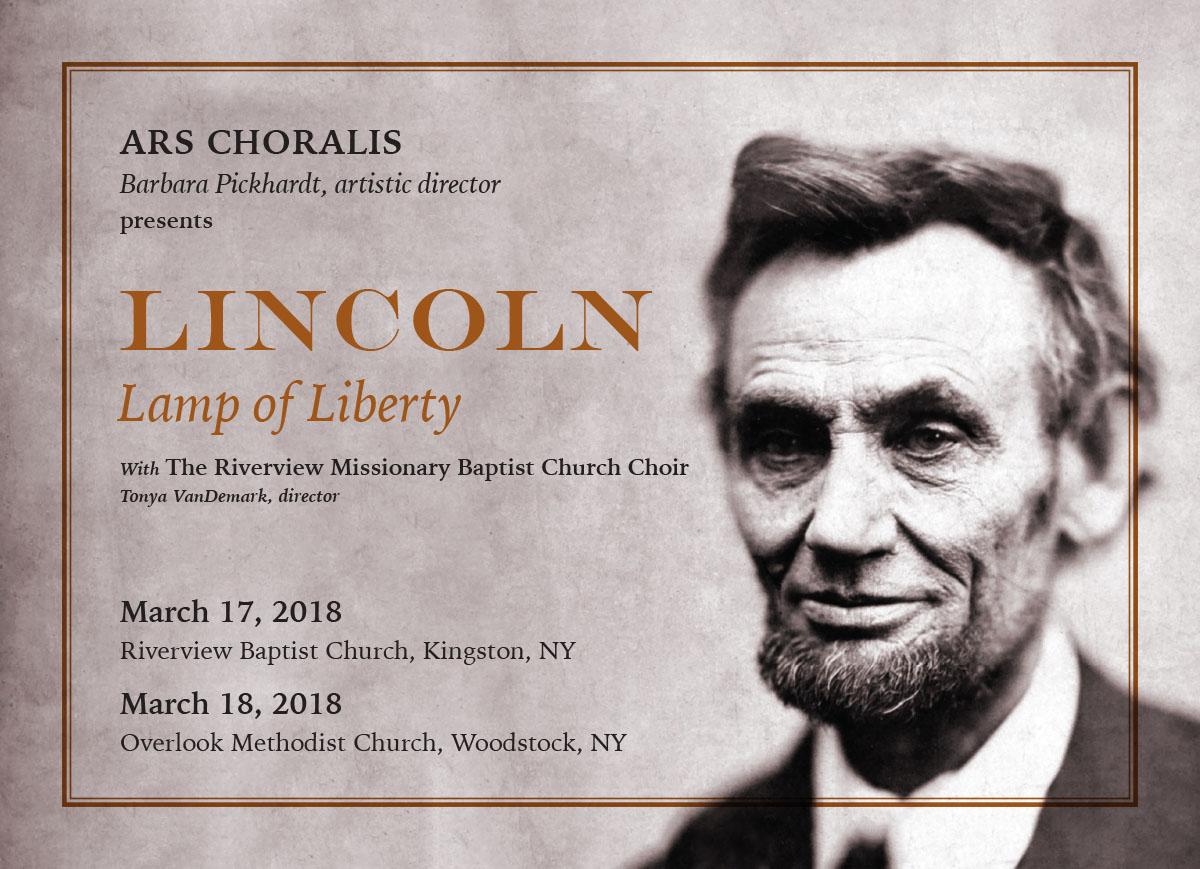Lincoln postcard image
