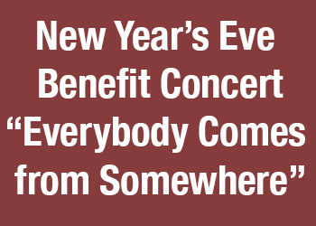 New Year's Eve Benefit Concert